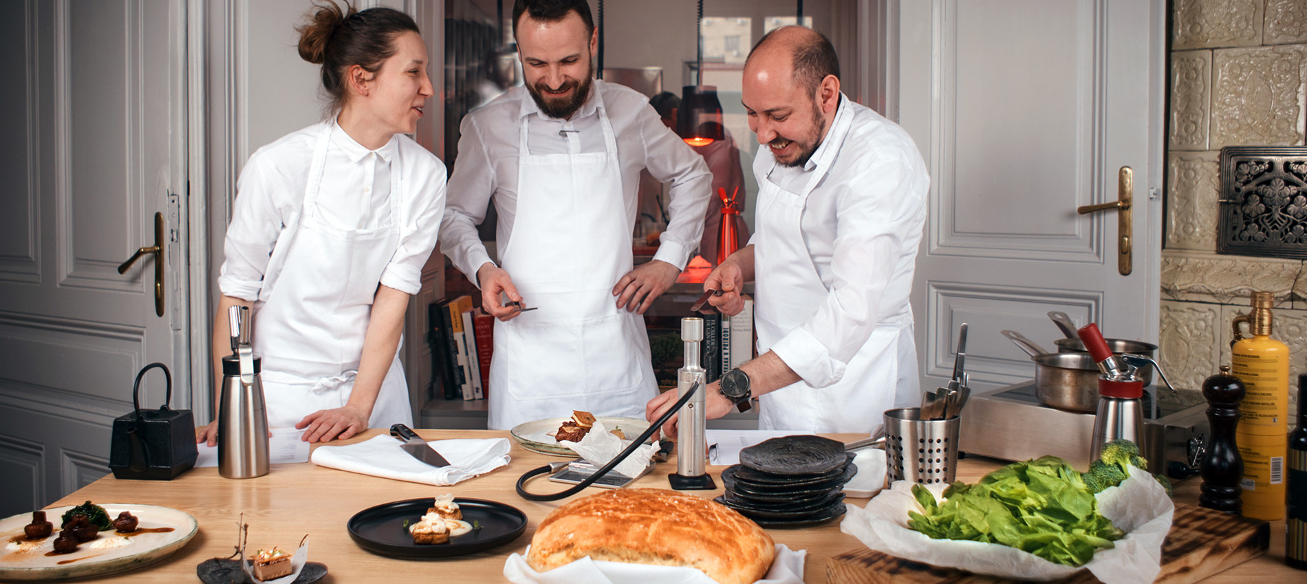 Workshop - New Balkan Cuisine